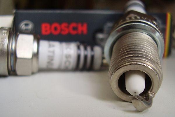 платиновая свеча bosch