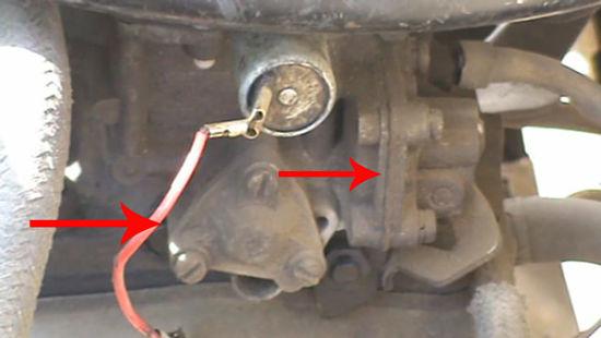 утечки бензина карбюратора ВАЗ 2108, 2109