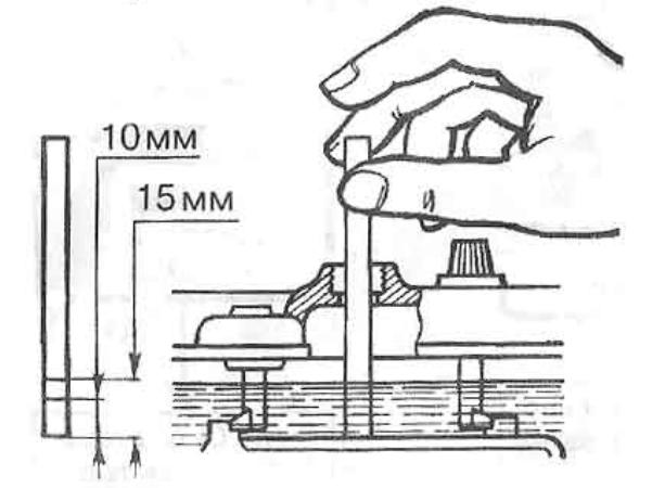 Поправка плотности электролита от температуры