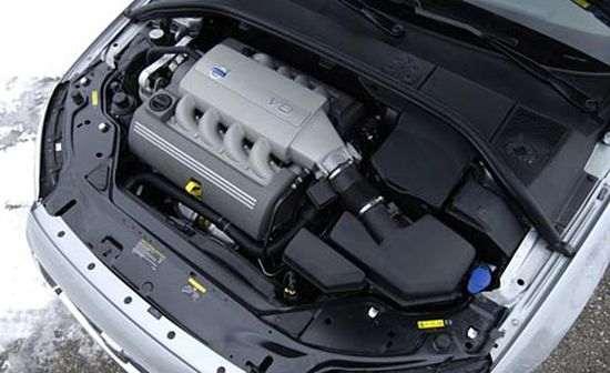Двигатель Volvo-s80