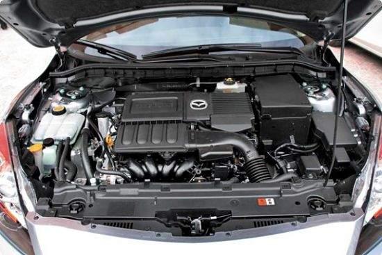 2.0-литровый мотор Mazda 6
