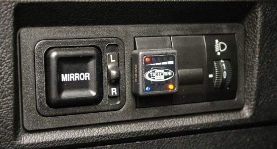 кнопка переключения и количество газа