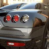 Карбон 3D на отдельных частях автомобиля