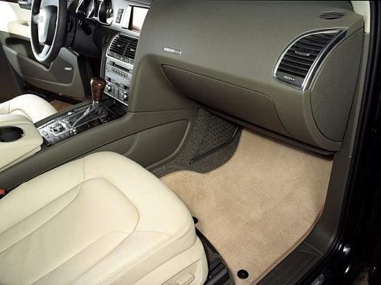 коврик в салоне авто под ногами водителя