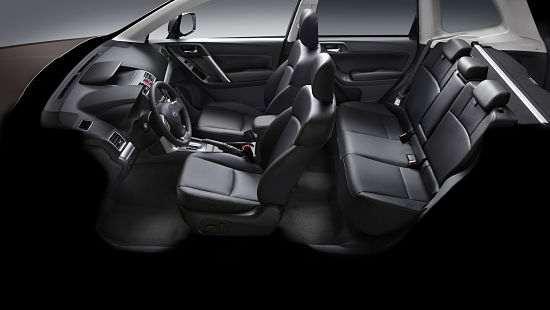 Сидения в Subaru Forester