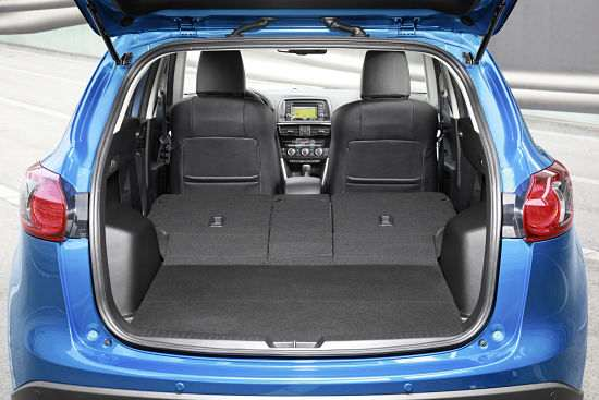 Багажник кроссовера Mazda CX-5