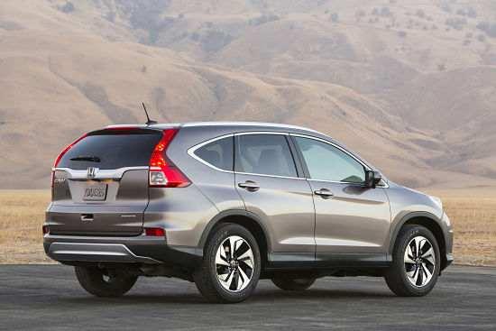 2015 Honda CR-V.
