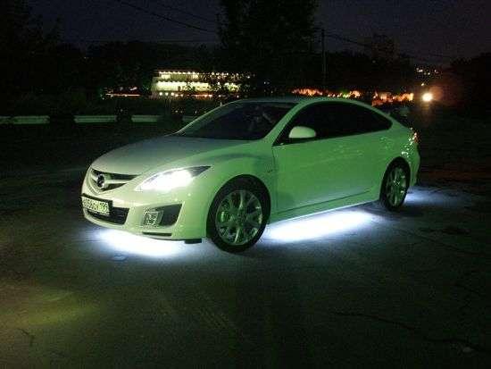 светодиодная подсветка под днищем автомобиля