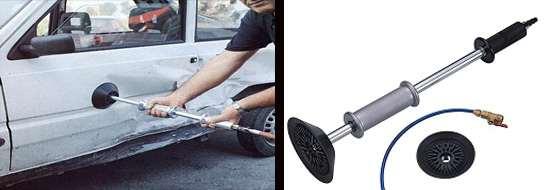 Вакуумная вытяжка для ремонта кузова
