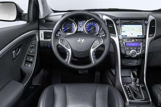 интерьер Hyundai i30