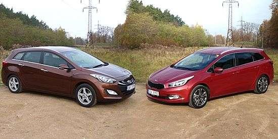 Kia Ceed и Hyundai i30