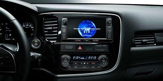 Центральная консоль Mitsubishi Outlander
