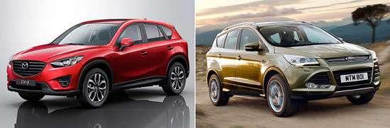Nissan X-Trail и Mazda CX-5
