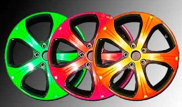 Цветовая расцветки для покраски дисков