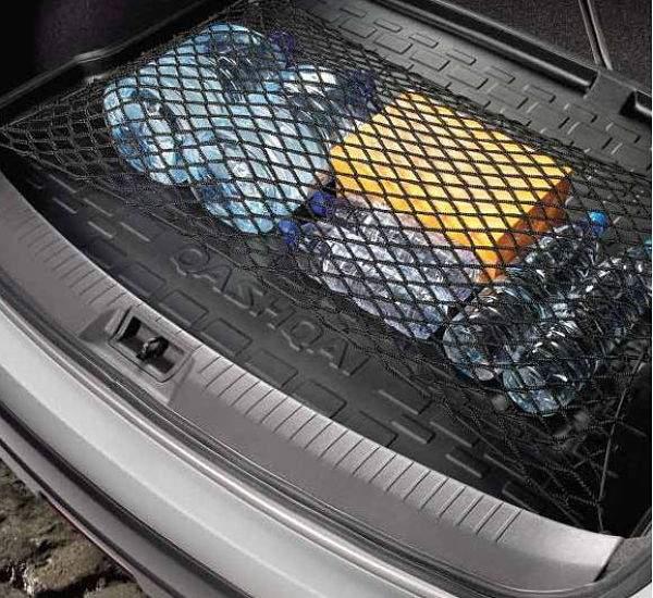 горизонтальная багажная сетка машины