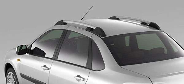 металлопластиковый рейлинг на крыше машины