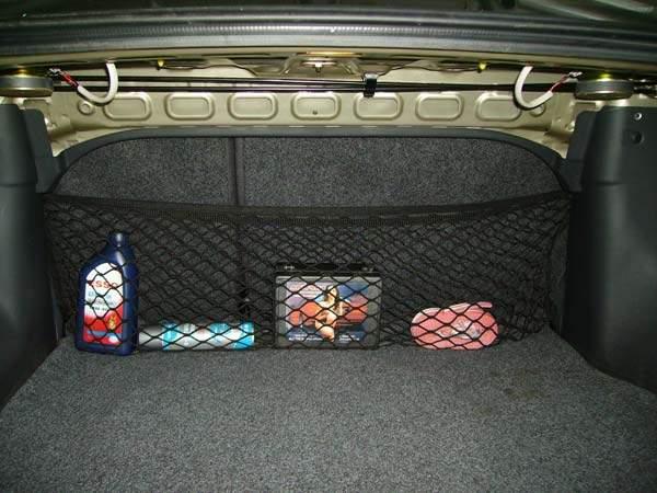 вспомогательная сетка в багажник