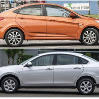 Hyundai Solaris или Nissan Almera