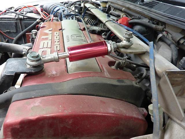 установка демпфера на двигатель