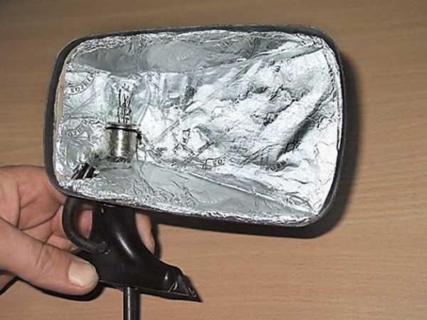 ламповый подогрев зеркал