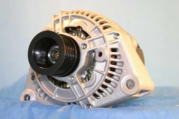 Принцип работы автомобильного генератора переменного тока
