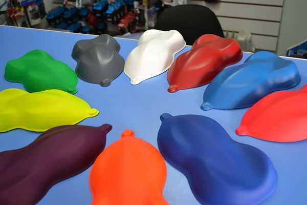 цвета жидкой резины: металлик, неон, хамелеон, перламутр, прозрачная, термальная