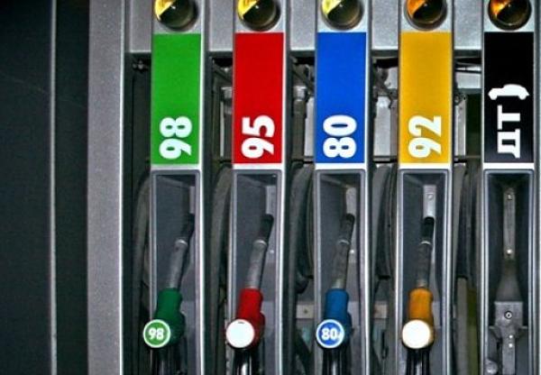 Цвет бензина 92
