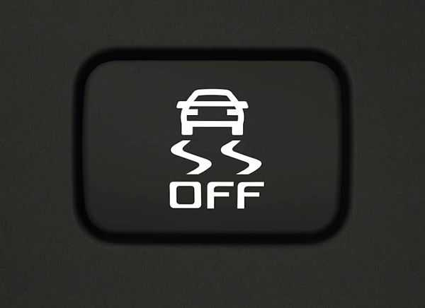 значок TCS на приборной панели автомобиля