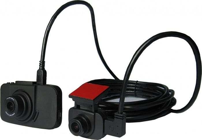 видео регистратор с двумя камерами Inspector FHD-A770