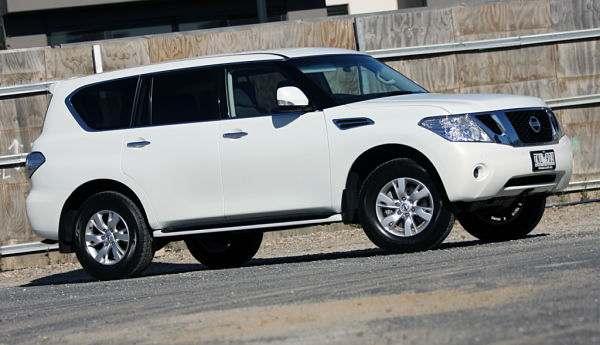 Внедорожник Nissan Patrol 2016