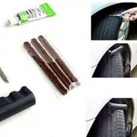 Этапы ремонта бескамерных шин