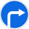 Знак Движение направо