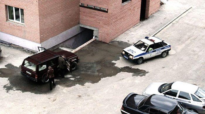 гибдд наказало за мытье машины во дворе многоквартирного дома
