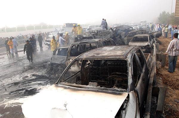 Самые масштабные аварии в мире
