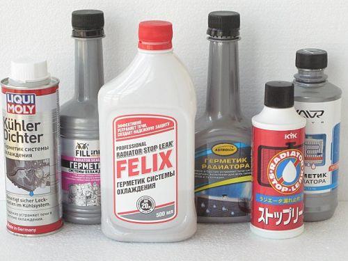 жидкий герметик для радиатора автомобиля