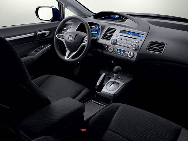 Интерьер Honda Civic седан