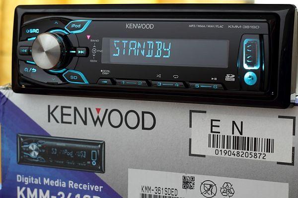 Магнитола Kenwood KMM-361SD