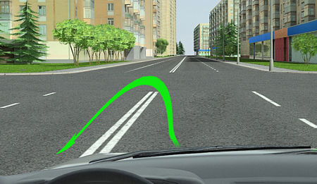 Правила дорожного движения развороты