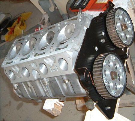 двигатель с одним распредвалом
