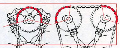 шкив двигателя DOHC