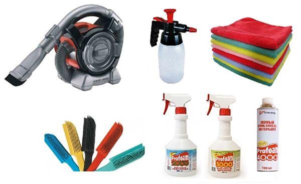 инструменты для очистки