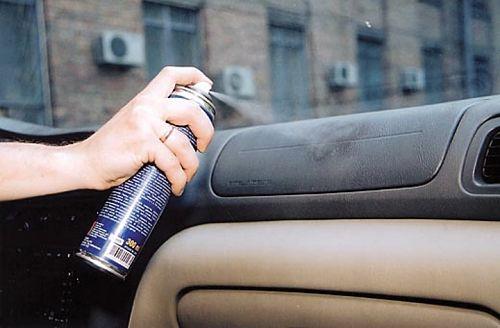 очистка пластиковых панелей машины