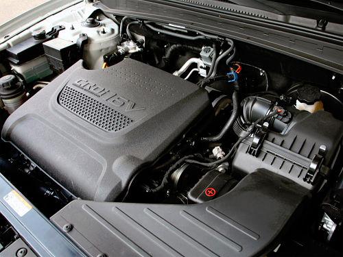 мотор Hyundai Santa Fe 2