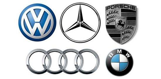эмблемы немецких марок машин